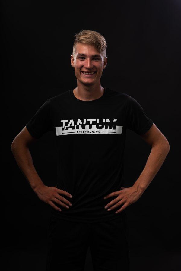 Tantum Freerun shirt Zwart