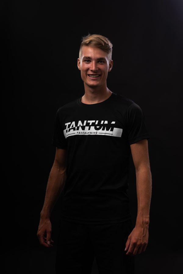 Tantum Freerunning shirt Zwart