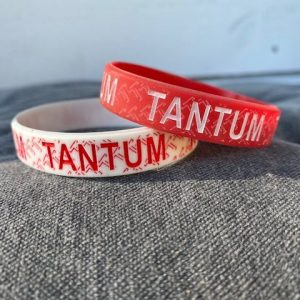 Bandjes Tantum rood en wit