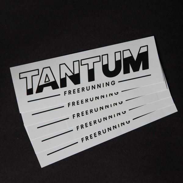stickers Tantum Freerunning Wit