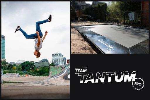 Team Tantum pro trampoline